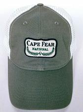 Buy Cape Fear National Golf Course Men's Gray White Trucker Snapback Hat Adjustable