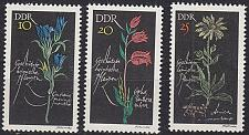 Buy GERMANY DDR [1966] MiNr 1242-44 ( **/mnh ) Pflanzen