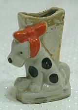 Buy Vintage Dog Match or Cigarette Holder Figural Ashtray Japan Tobacciana
