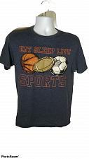 Buy Eat Sleep Live Sports Boy's XL Graphic Short Sleeve T-Shirt