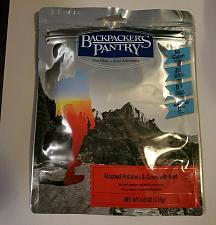 Buy BACKPACKER'S PANTRY MASHED POTATOES AND GRAVY WITH BEEF 4OZ 2 SERVINGS SEALED