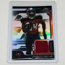 Buy NFL CHARLES SIMS BUCCANEERS 2014 TOPPS CHROME GAME-WORN JERSEY ROOKIE REFRACTOR