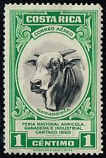 Buy Costa Rica #C197 Bull; Unused (0.55) (2Stars) |COSC0197-01