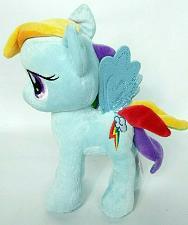 "Buy My Little Pony Rainbow Dash Plush Stuffed Animal Blue Pegasus Wings 2013 10.5"""
