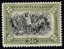 Buy Portugal #440 Battle of Atoleiros; Unused (0.25) (2Stars) |POR0440-02XRS