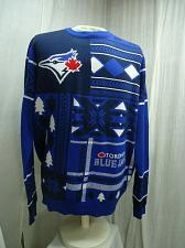 Buy Toronto Blue Jays Ugly Christmas Sweater Mens XL 46 inch chest Crew Neck MLB