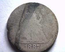 Buy 1887-S SEATED LIBERTY DIME ABOUT GOOD+ AG+ FROM BOBS COINS FAST SHIPMENT
