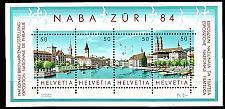 Buy SCHWEIZ SWITZERLAND [1984] MiNr 1276-79 Block 24 ( **/mnh ) Briefmarken