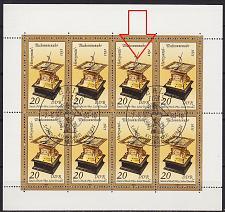 Buy GERMANY DDR [1983] MiNr 2798 KB F03 ( O/used ) Plattenfehler