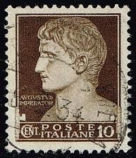 Buy Italy #215 Augustus Caesar; Used (4Stars) |ITA0215-08