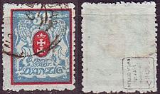 Buy GERMANY REICH Danzig [1922] MiNr 0127 Y ( OO/used ) [01] geprüft