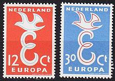 Buy NIEDERLANDE NETHERLANDS [1958] MiNr 0718-19 ( **/mnh ) CEPT