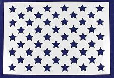 "Buy 50 Star Field Stencil 14 Mil -15 1/16""H x 21 1/4""W - Painting /Crafts/ Template"