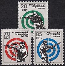 Buy GERMANY DDR [1986] MiNr 3045-47 ( **/mnh ) Sport