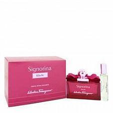 Buy Signorina Ribelle Eau De Parfu Spray + Free .34 oz Mini EDP Spray By Salvatore F