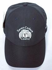Buy NWT Seven Cedars Casino 2017 Valley Cup Men's Gray Baseball Cap Strapback Hat