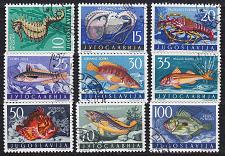 Buy JUGOSLAVIA [1956] MiNr 0795-03 ( O/used ) Fische