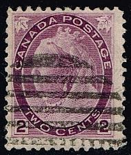 Buy Canada #76 Queen Victoria; Used (2Stars) |CAN0076-04
