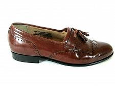 Buy Stacy Adams Brown Leather Wingtip Tassels Loafer Dress Shoes Men's 9.5 M (SM5)