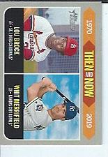 Buy Brock / Merrifield 2019 Topps Heritage Then & Now