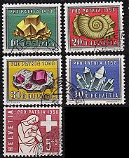 Buy SCHWEIZ SWITZERLAND [1958] MiNr 0657-51 ( O/used ) [02] Pro Patria