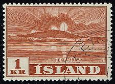 Buy Iceland #251 Hekla Volcano; CTO (0.25) (3Stars) |ICE0251-01XRS