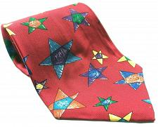 Buy Save The Children Happy Stars Age 5 Kaho 100% Silk Necktie