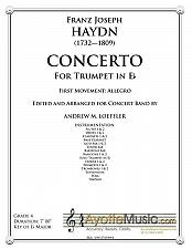 Buy Hayn - Haydn Trumpet Concerto for Band - 1st Mvt.