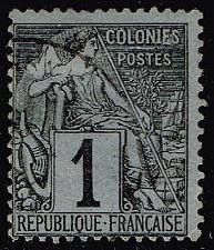 Buy French Colonies #46 Commerce; Used (2Stars) |FRC46-02XVA