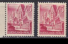 Buy GERMANY Alliiert Franz. Zone [RheinlPfalz] MiNr 0010 vv I,II ( **/mnh ) [01]