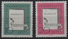 Buy GERMANY DDR [1957] MiNr 0598-99 ( **/mnh )