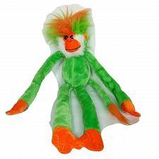 "Buy Six Flags Grand Prairie Texas Green Orange Monkey Plush Stuffed Animal 23"""