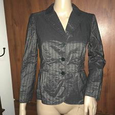 Buy philosophy di alberta ferretti Women`s Charcoal blazer 3 button Sz 4