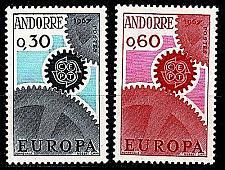 Buy ANDORRA FRANZÖSISCH [1967] MiNr 0199-00 ( **/mnh ) CEPT