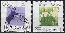 Buy GERMANY BUND [1996] MiNr 1861 ex ( O/used ) [01] Olympiade
