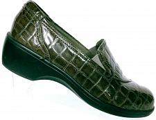 Buy Clarks Bendables Women's Brown Crocodile Print Slip On Loafers Shoes Size 7 M