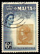 Buy MALTA [1960] MiNr 0274 ( O/used )
