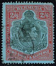 Buy Bermuda #124a King George VI; Used (1Stars) |BER0124a-01XRP