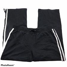 Buy SJB Active Womens Active Wear Track Pants Size LP Black Stretch Drawstring