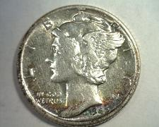 Buy 1940-D MERCURY DIME CHOICE ABOUT UNCIRCULATED CH AU SUPER ATTRACTIVE TONING NICE