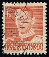 Buy Denmark #335 King Frederik IX; Used (0.50) (3Stars) |DEN0335-11