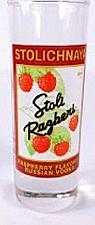 "Buy Stolichnaya Raspberry Flavored Russian Vodka 4"" Collectible Shot Glass"