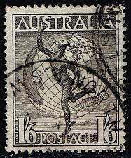 Buy Australia #C6 Mercury and Globe; Used (0.60) (2Stars) |AUSC06-06XBC
