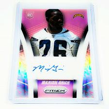 Buy NFL MARION GRICE CHARGERS AUTOGRAPHED 2014 PANINI PINK PRIZM REFRACTOR RC /100