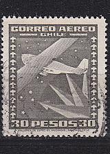 Buy CHILE [1944] MiNr 0347(B) ( O/used ) Flugzeuge
