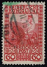 Buy Austria #122 Franz Josef on Horseback; Used (0.25) (2Stars) |AUT0122-08XBC