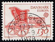 Buy Denmark #651 Mail Cart; Used (3Stars) |DEN0651-01XBC