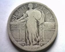 Buy 1917 TYPE 1 STANDING LIBERTY QUARTER GOOD / VERY GOOD G/VG NICE ORIGINAL COIN