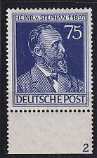 Buy GERMANY Alliiert Gemeinschaft [1947] MiNr 0964 P2 ( **/mnh ) [01] URand PlattenNr 2