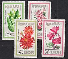 Buy GERMANY DDR [1966] MiNr 1189-92 ( **/mnh ) Blumen
